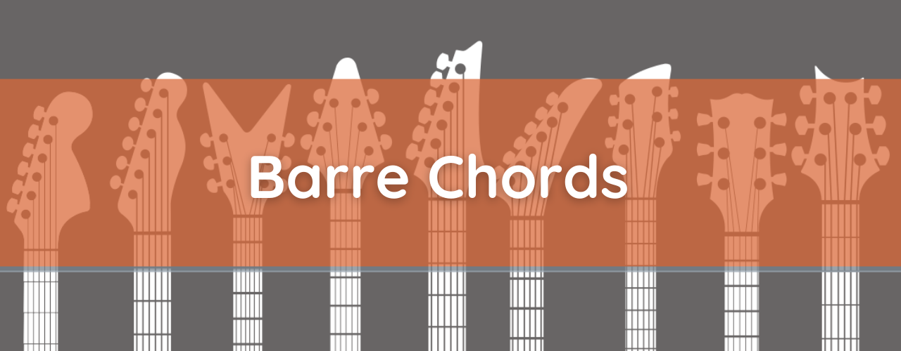 9 Essential Barre Chords - How to Play Guitar Bar Chords